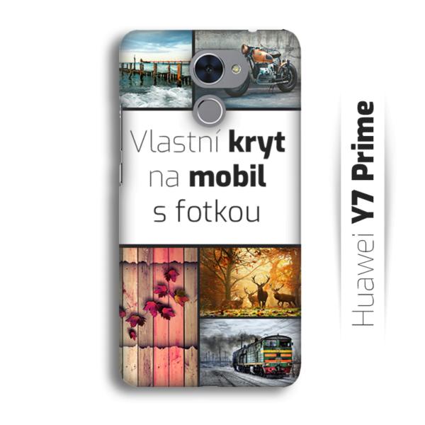 Vlastní kryt na mobil Huawei Y7 Prime