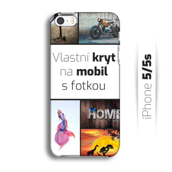 Vlastní kryt na mobil iPhone 5/5S