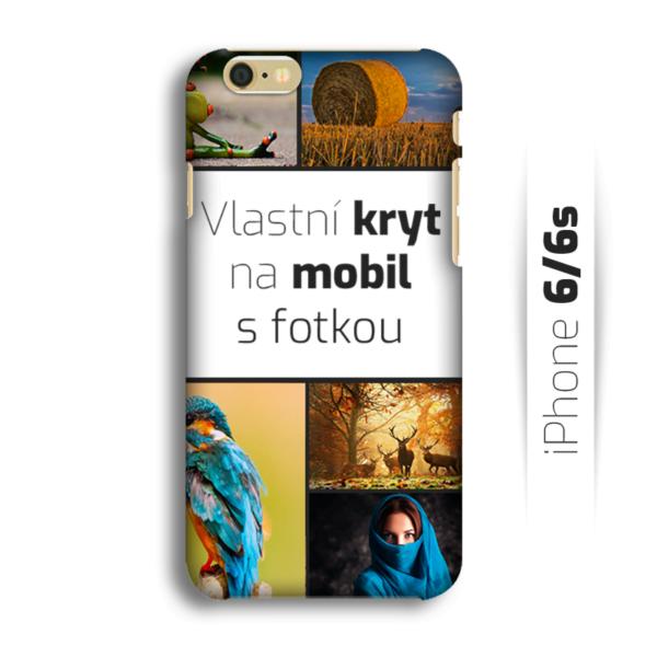 Vlastní kryt na mobil iPhone 6/6S