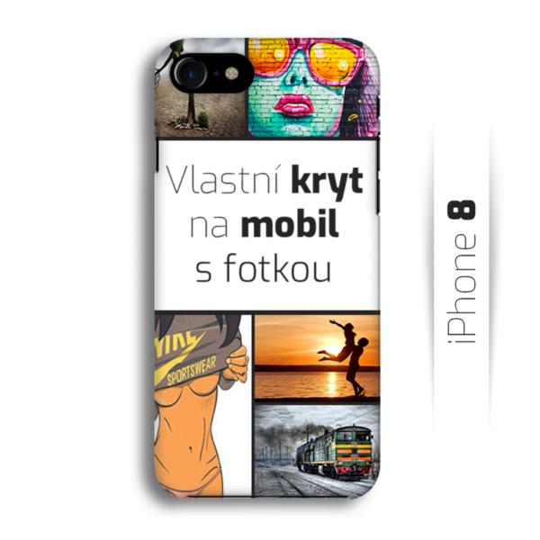 Vlastní kryt na mobil iPhone 8