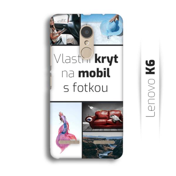Vlastní kryt na mobil Lenovo K6