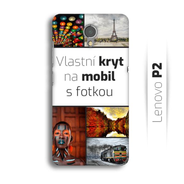 Vlastní kryt na mobil Lenovo P2