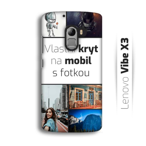 Vlastní kryt na mobil Lenovo Vibe X3