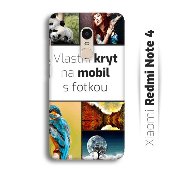 Vlastní kryt na mobil Xiaomi Redmi Note 4