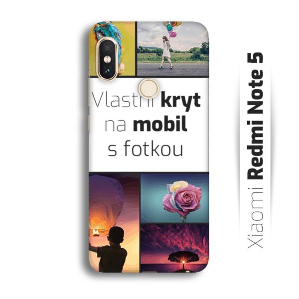 Vlastní kryt na mobil Xiaomi Redmi Note 5