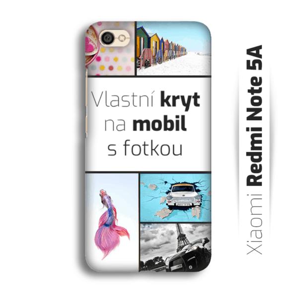 Vlastní kryt na mobil Xiaomi Redmi Note 5A