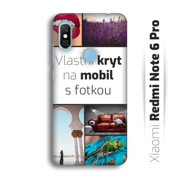 Vlastní kryt na mobil Xiaomi Redmi Note 6 Pro