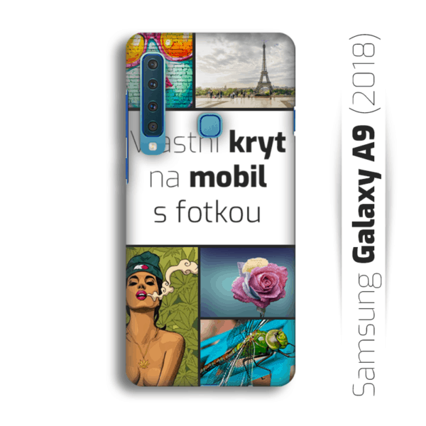 Vlastní kryt na mobil Samsung Galaxy A9 (2018)