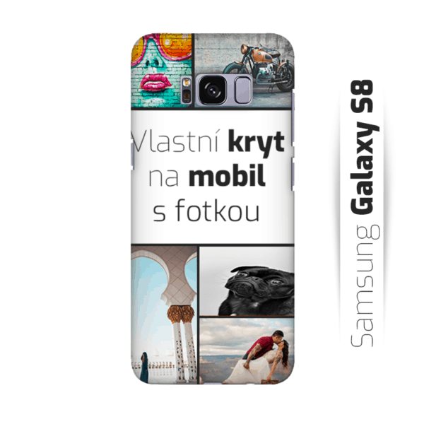 Vlastní kryt na mobil Samsung Galaxy S8