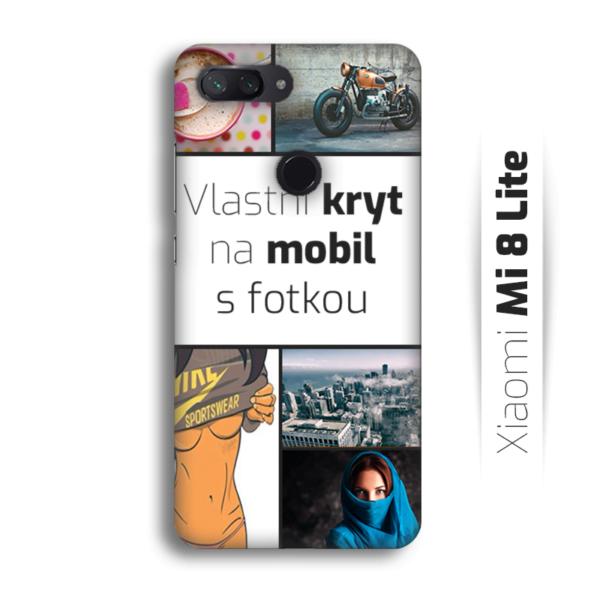 Vlastní kryt na mobil Xiaomi Mi 8 Lite