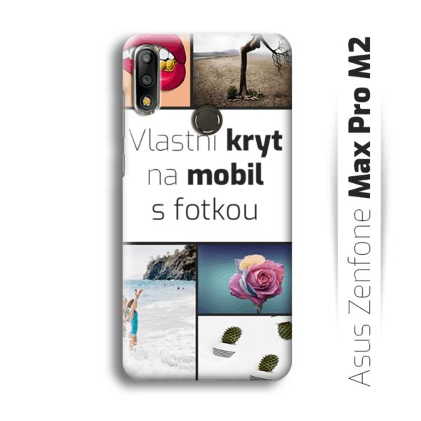 Vlastní kryt na mobil Asus Zenfone Max Pro M2
