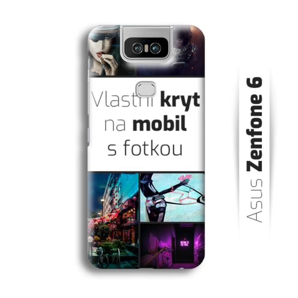 Vlastní kryt na mobil Asus Zenfone 6
