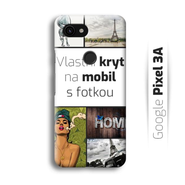 Vlastní kryt na mobil Google Pixel 3A