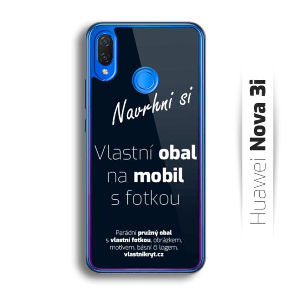 Obal s vlastní fotkou na mobil Huawei Nova 3i