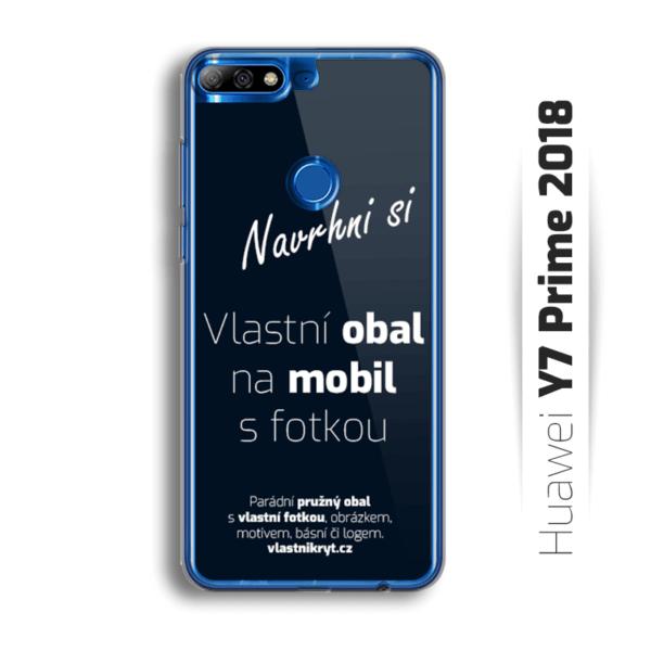 Obal s vlastní fotkou na mobil Huawei Y7 Prime 2018