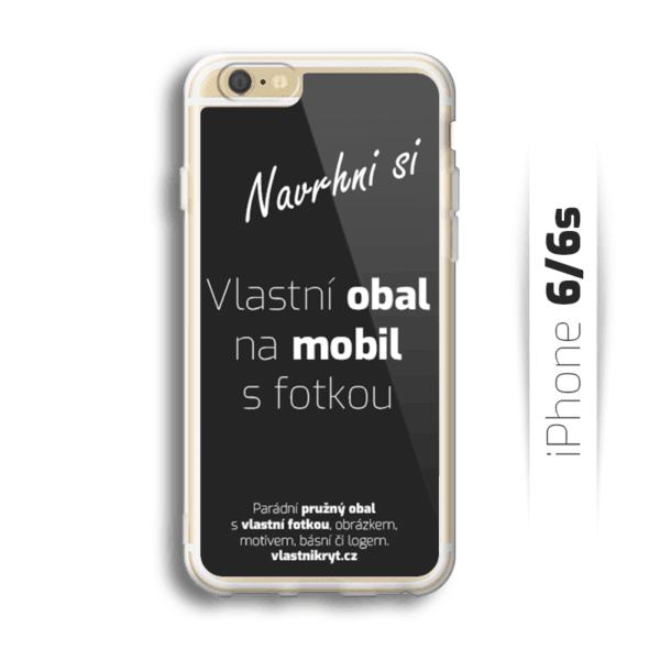 Obal s vlastní fotkou na mobil iPhone 6/6s