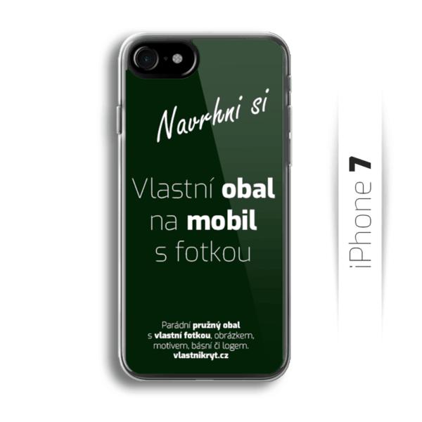 Obal s vlastní fotkou na mobil iPhone 7