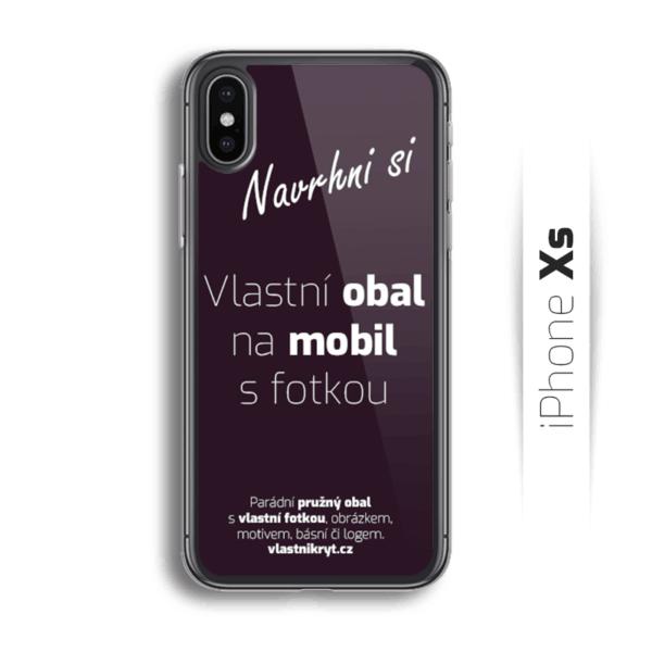 Obal s vlastní fotkou na mobil iPhone Xs