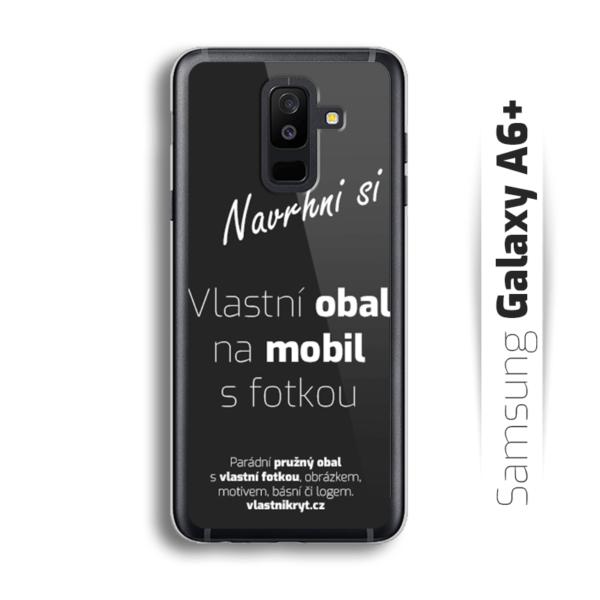 Obal s vlastní fotkou na mobil Samsung Galaxy A6 Plus