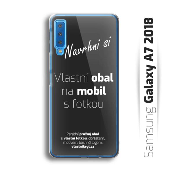 Obal s vlastní fotkou na mobil Samsung Galaxy A7 2018