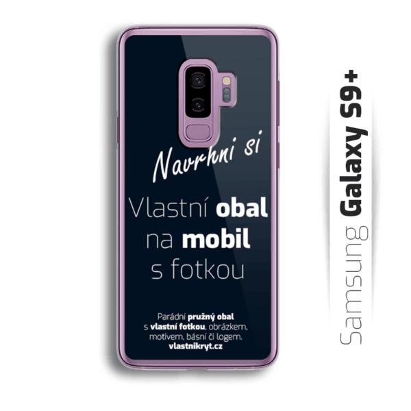 Obal s vlastní fotkou na mobil Samsung Galaxy S9 Plus