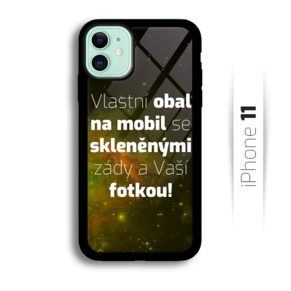 Vlastní obal se skleněnými zády na iPhone 11