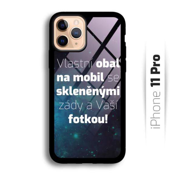 Vlastní obal se skleněnými zády na iPhone 11 Pro