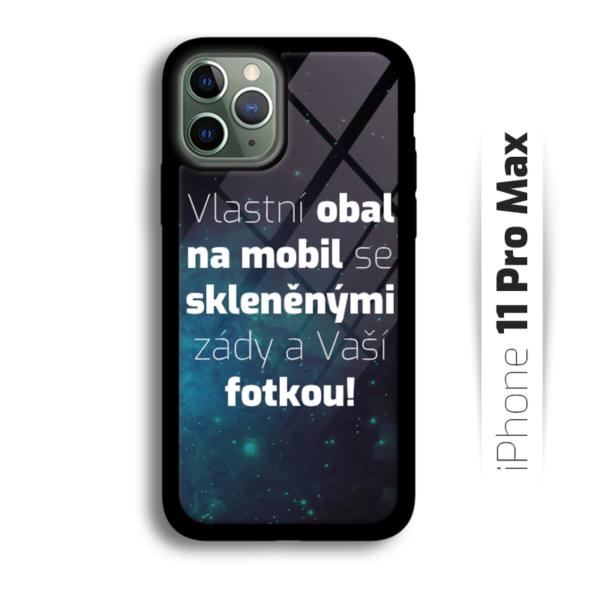 Vlastní obal se skleněnými zády na iPhone 11 Pro Max