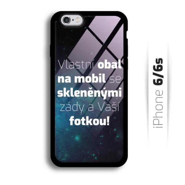 Vlastní obal se skleněnými zády na iPhone 6/6s