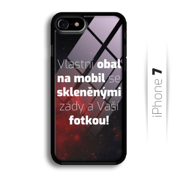 Vlastní obal se skleněnými zády na iPhone 7