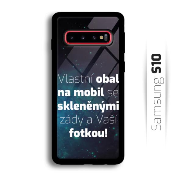 Vlastní obal se skleněnými zády na Samsung Galaxy S10