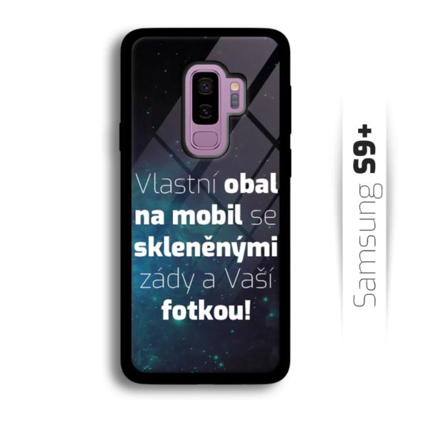 Vlastní obal se skleněnými zády na Samsung Galaxy S9 Plus
