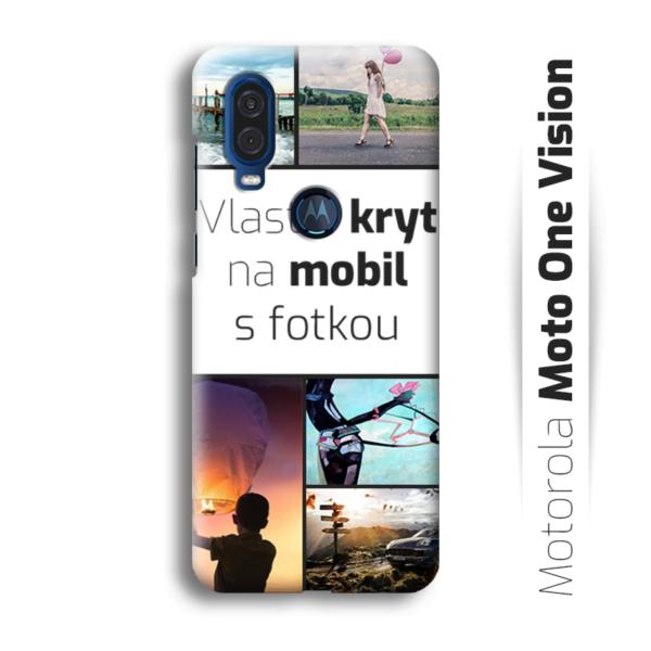 Vlastní kryt na mobil Motorola Moto One Vision