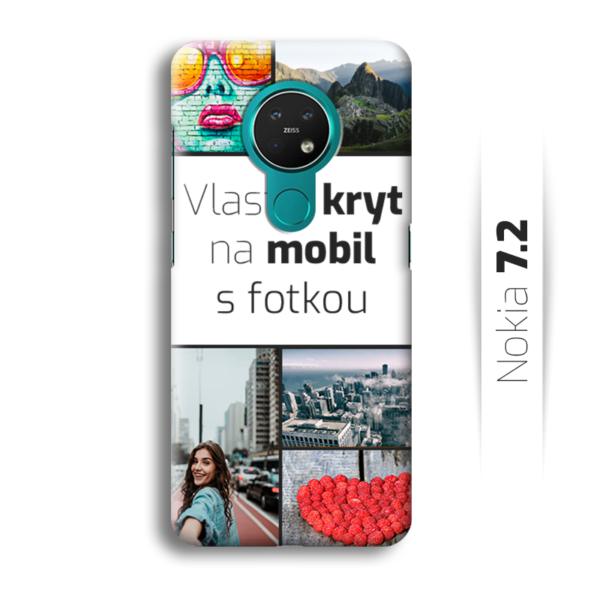 Vlastní kryt na mobil Nokia 7.2