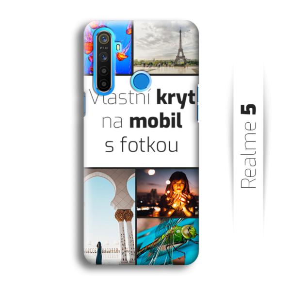 Vlastní kryt na mobil Realme 5