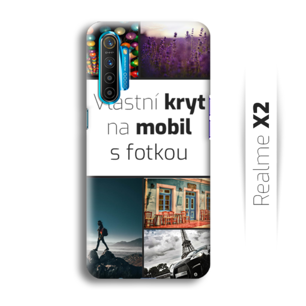 Vlastní kryt na mobil Realme X2