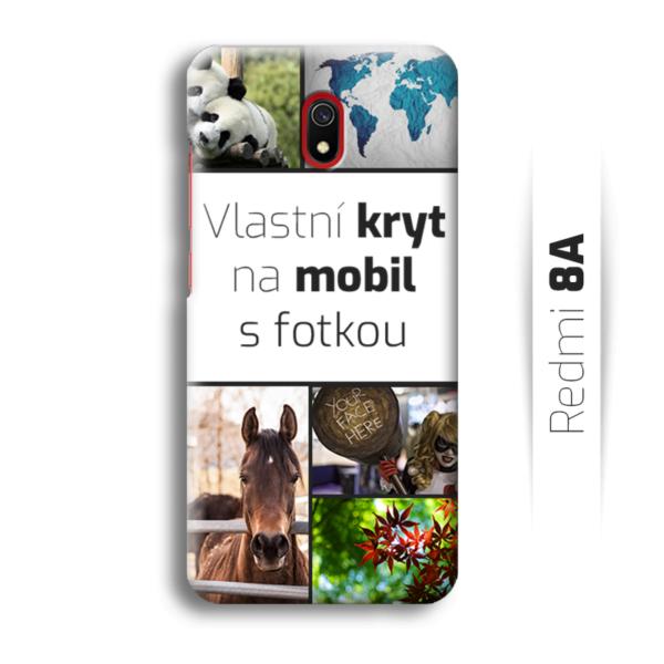 Vlastní kryt na mobil Xiaomi Redmi 8A
