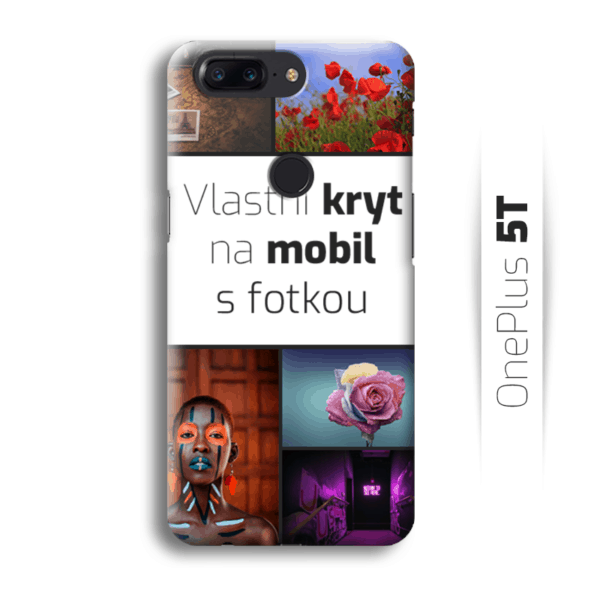 Vlastní kryt na mobil OnePlus 5T