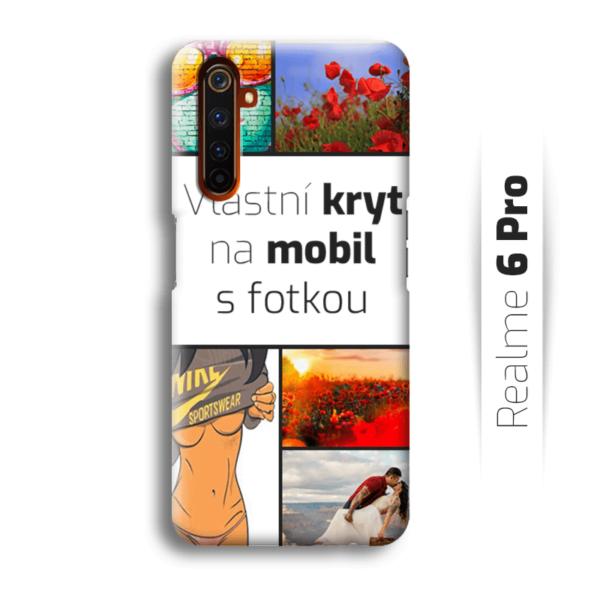 Vlastní kryt na mobil Realme 6 Pro
