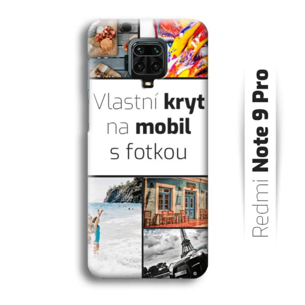 Vlastní kryt na mobil Redmi Note 9 Pro