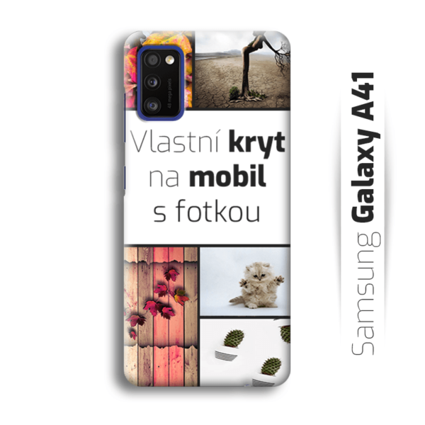 Vlastní kryt na mobil Samsung Galaxy A41