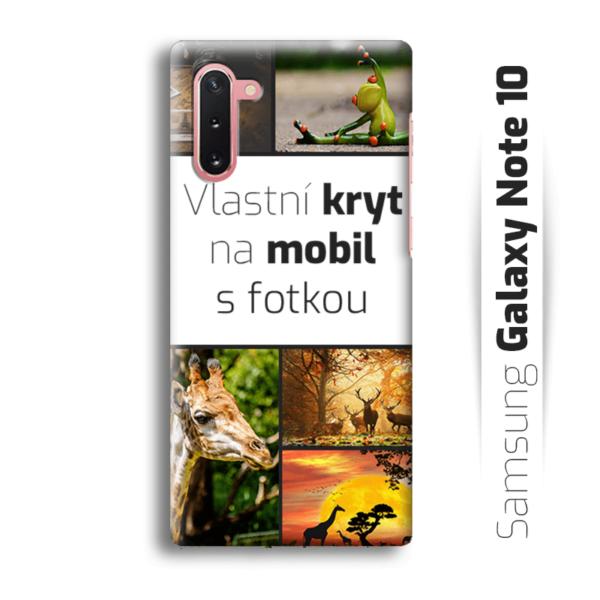 Vlastní kryt na mobil Samsung Galaxy Note 10