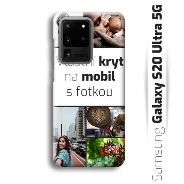 Vlastní kryt na mobil Samsung Galaxy S20 Ultra 5G