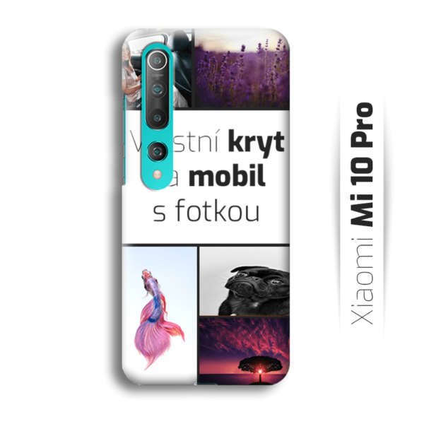 Vlastní kryt na mobil Xiaomi Mi 10 Pro