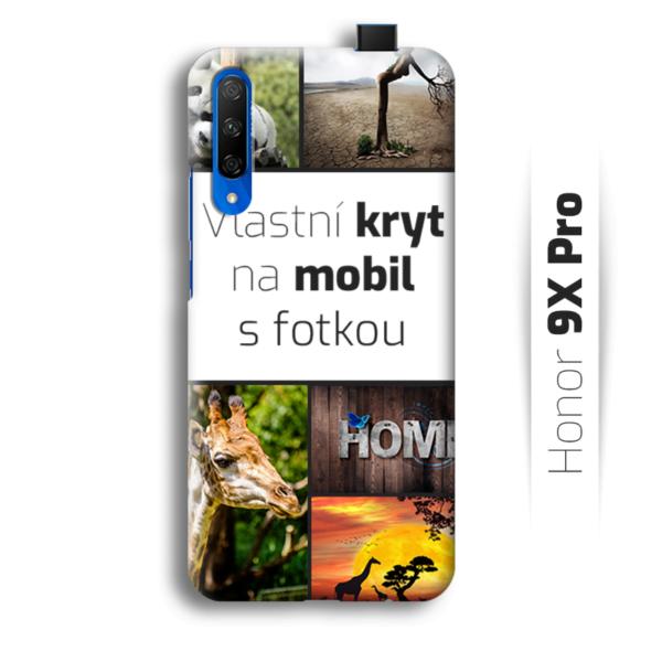 Vlastní kryt na mobil Honor 9X Pro