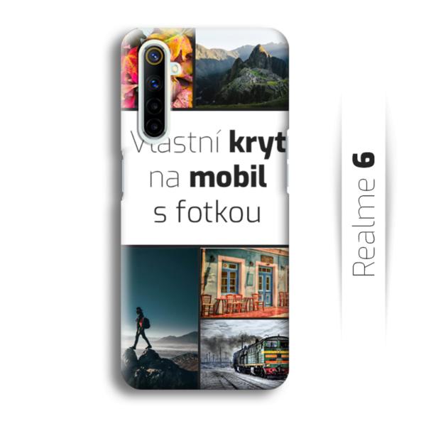 Vlastní kryt na mobil Realme 6