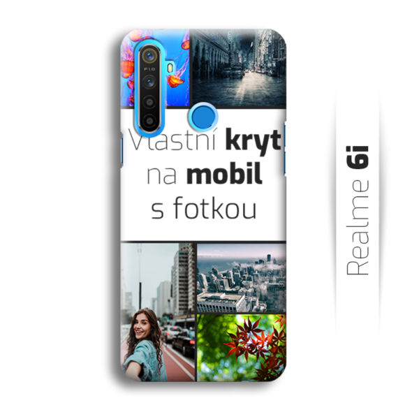 Vlastní kryt na mobil Realme 6i