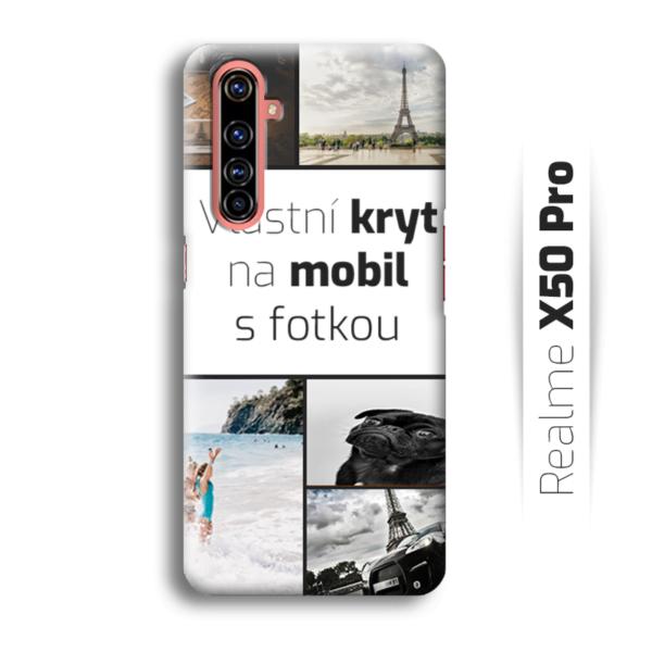 Vlastní kryt na mobil Realme X50 Pro