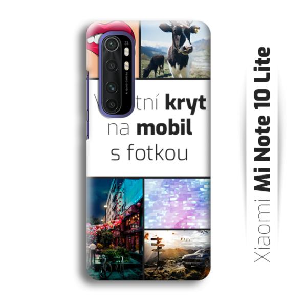 Vlastní kryt na mobil Xiaomi Mi Note 10 Lite