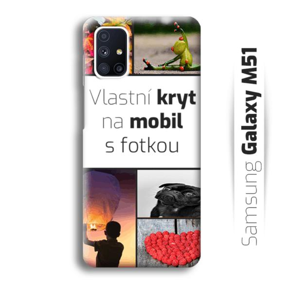 Vlastní kryt na mobil Samsung Galaxy M51